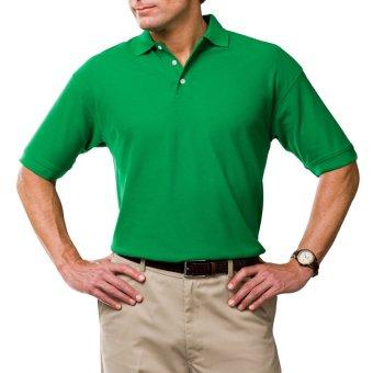 Áo thun nam body polo cổ bẻ Navi ( xanh lá )