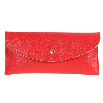 Korean Wallet Card Package Clutch Purse Faux Leather Envelope Candy(03) (Intl)