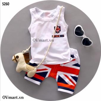 Quần áo bé trai - Set 3 Lỗ England - S260