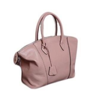 Túi xách nữ da thật - NL002 (Hồng)