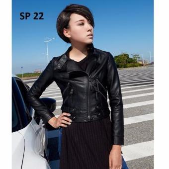 Áo khoác da nữ SP 22
