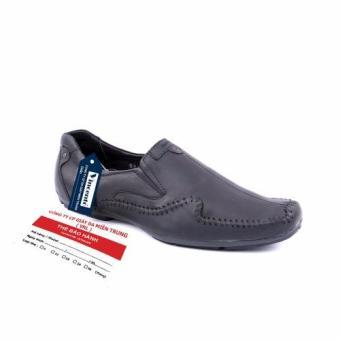 Giày lười nam Vincento Da Thật Giày Da Miền Trung VCT3LZD80D-1 (Đen)
