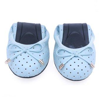 Giày Búp Bê Butterfly Twists Grace (Bt01015-019) - Xanh Nước Biển
