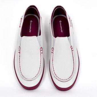 Giày nam thời trang ANANAS 20138 (Trắng)