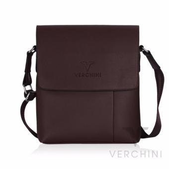 Túi xách nam Verchini màu nâu 004358