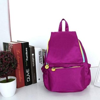 Girls leisure Backpack Rucksack School Satchel Hiking Waterproof Bag Bookbag - intl