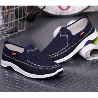 giày lười nam - Pettino GL-13 (xanh đậm)