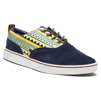 Bellfield Men's Aztec Print Sneakers Tan