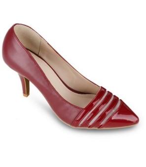 Giày cao gót UP&GO - P07-372 (Đỏ)