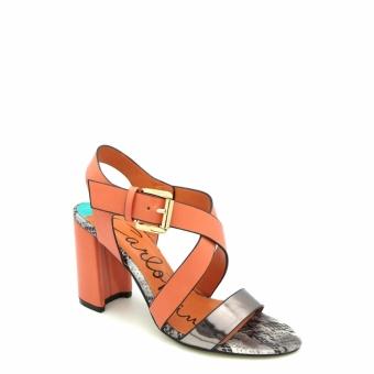Giày Sandal cao gót Carlo Rino 333040-111-17 (màu cam)
