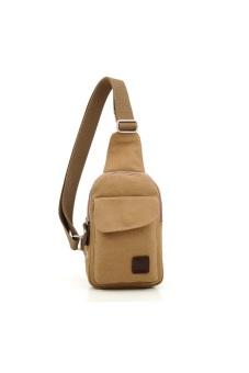 Túi đeo chéo dành cho nam (Nâu nhạt)