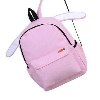 Fashion School Backpack Women Children Schoolbag Back Pack Leisure Travel Bag PK - intl