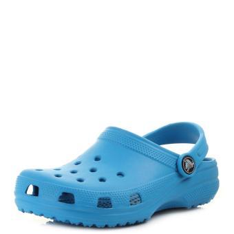 Dép và Xăng đan bé trai Crocs Classic Clog K Ocean 204536-456 (Xanh dương)