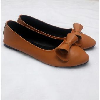 Giày búp bê nơ cuộn 92308