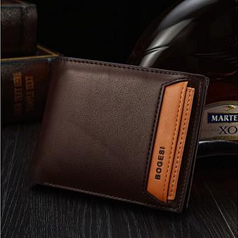 Bóp da nam BOGESI BD115 (Nâu cà phê tối)
