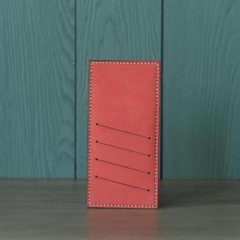 Ví đựng thẻ nữ Doris de V 004 (Đỏ Kiwi)