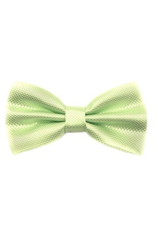 Blue lans Bow Tie (Light Green) - intl