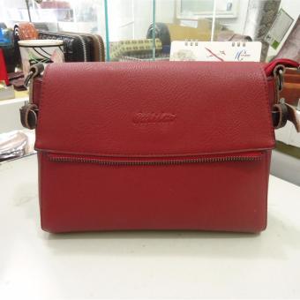 Túi nữ da cao cấp DaH2 TN16032 (màu đỏ)