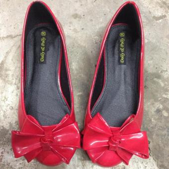 Giày búp bê cao 2 phân nơ xinh Dolly & Polly