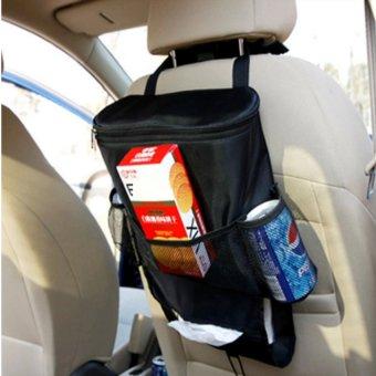 Túi đựng đồ lạnh du lịch trên ô tô 206066-1 (Đen)