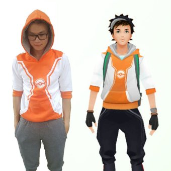 Áo khoác pokemon (Cam)