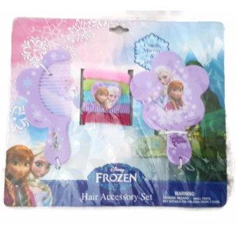 Bộ phụ kiện tóc Nữ Hoàng Băng Giá cho bé gái Disney Princess 7pc Hair Accessory Set (Mỹ)