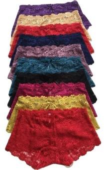 Bộ 10 quần lót nữ ren