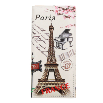 Women Coin Purse ID Credit Card Holder (Tower and Paino) (Int: One size)(Intl:)