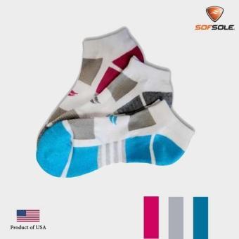 Vớ nữ Multi Sport Cushion 3 đôi Sofsole-Int: One size