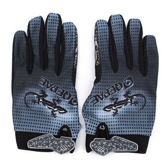 QEPAE Outdoor Cycling Sports Full Finger Gloves (L) (Intl)