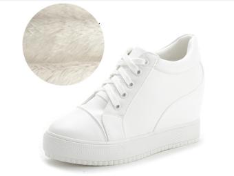 Giày Độn Gót Nữ Gg24 (Trắng)