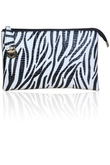 3 in 1 Women Lady Single-Shoulder Bag Big Handbag Purse Messenger Bag for Office Party Travel Zebra-Stripe (Intl) - intl
