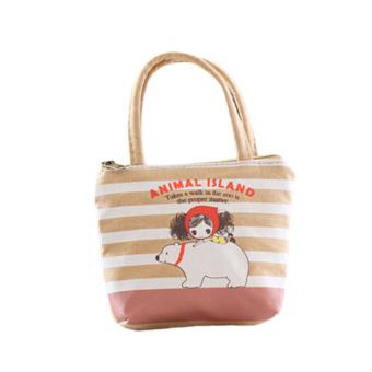 Fancyqube New Cute Cartoon Print Shopping Bag Handbag 02 (Intl)
