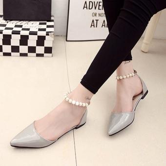 Giày nữ sang trọng - 159 (Xám)