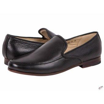 Giày tây da bò đen trơn thanh lịch | ATTOM AM3002.1