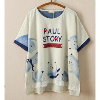Áo Thun Nữ Tay Ngắn Paul Story LTTA45 (Xám)