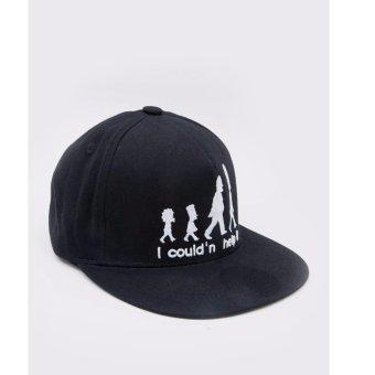 Nón nam/nữ Snapback nhập khẩu Hàn Quốc phong cách Kpop hiệu Millitage màu đen