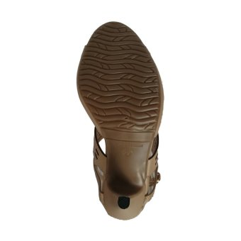 Giày sandal nữ cao gót 9f vân cắt lazer