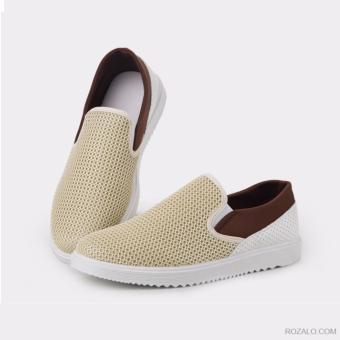 Giày lưới nam Sportmax SMG7028VN (Vàng nhạt)