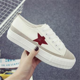 Giày nữ xs0282 (Trắng).