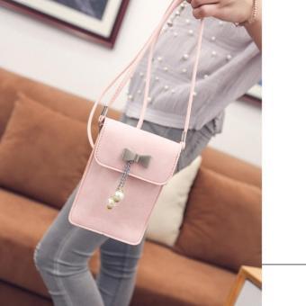 Túi đeo chéo điện thoại Diamon03(hồng)