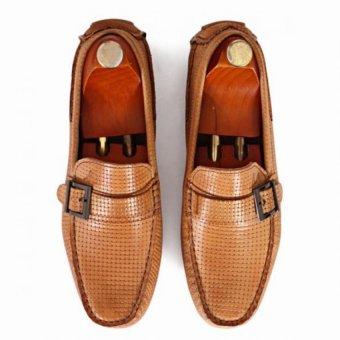 Giày mọi Alessandro Luigi LG92-76 (Nâu)