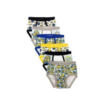 Set 6 quần lót bé trai Despicable Me Minions - QT 04 size 4