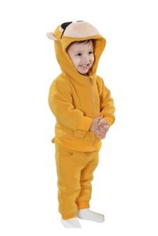 Bộ đồ nỉ hình thú cho bé TED09 (Vàng)