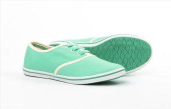 Giày nữ thời trang ANANAS 40098 (Xanh ngọc)