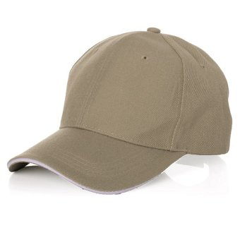 Unisex Summer Outdoor Sport Tennis Baseball Caps Breathable Team Hiking Hats - Intl