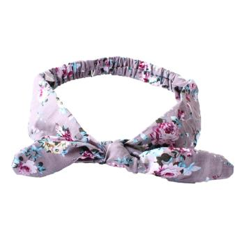 Lovely Baby Headband Bunny Ear Girl Headwear(C) - intl