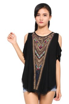 Free People Love Spell Tee (Black)