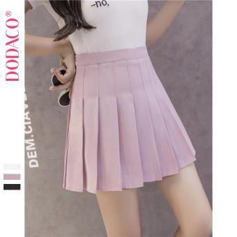 Chân Váy Ngắn Hàn Quốc Thời Trang DODACO DDC1875 HO VNU S - XXL 18401 (Hồng)