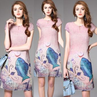 Đầm Suông Thời Trang CAO CẤP - A7265